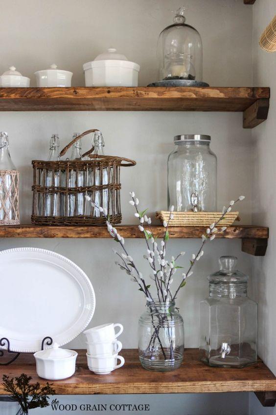 Old tins and jars
