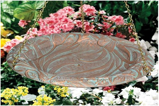 Bird Lovers Have A Soft Corner For Decorated Birdbaths