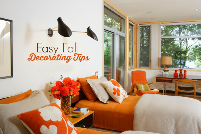 Say summer adieu with these fall decorating ideas