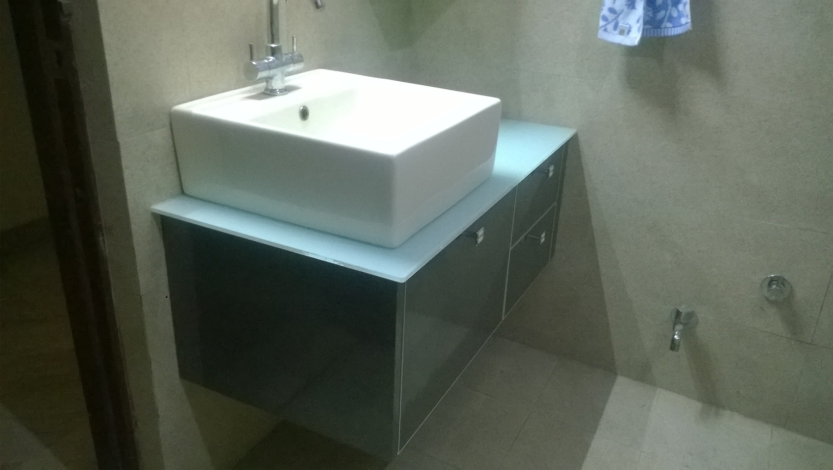 Wash Basin Cabinet Design