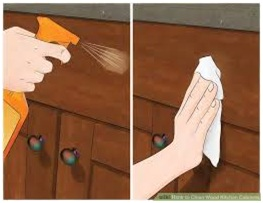 Best ways to clean the kitchen cabinets