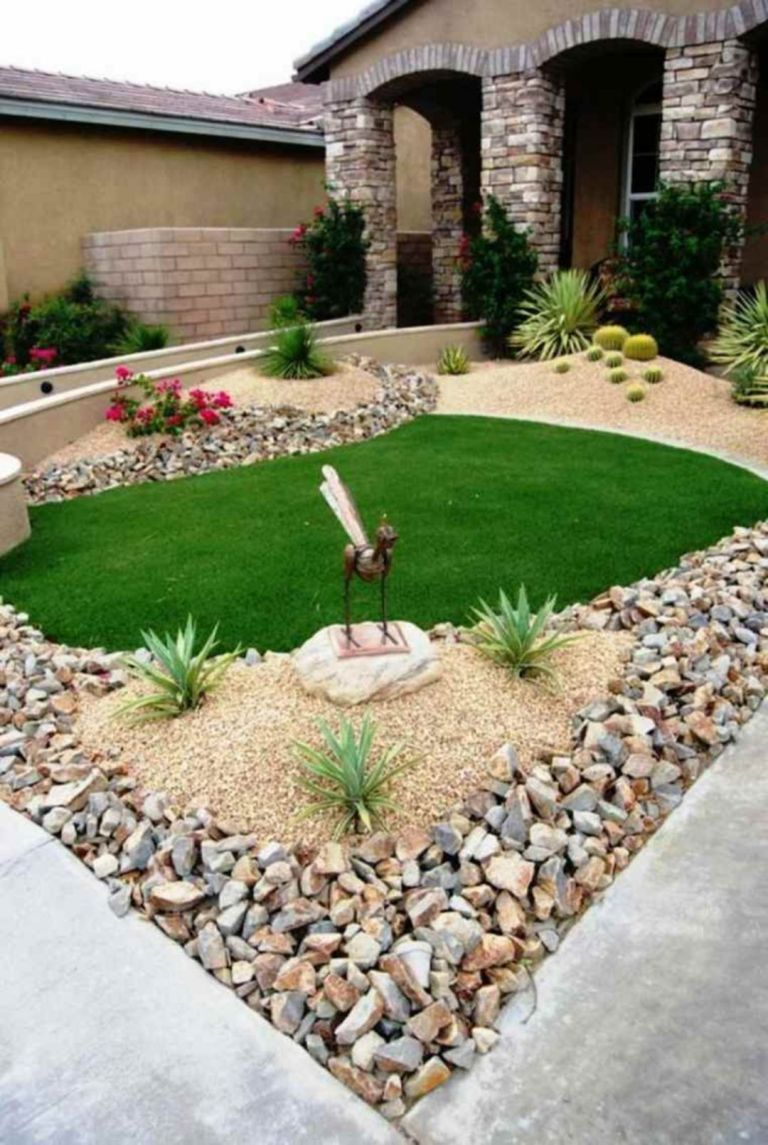 Front Yard Garden Wonderful Decorating Ideas with Special kids Play Space