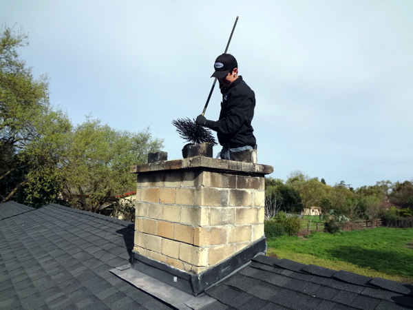 Safely Cleaning the Chimney