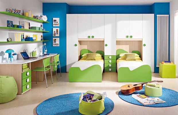 13 Interesting Ideas to Decorate Kids' Rooms