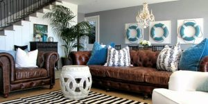Themed Decorated Living Rooms