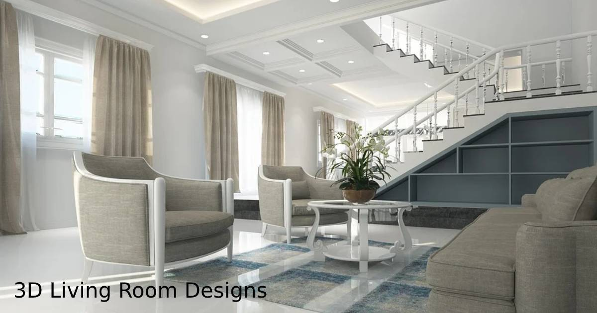How to Re-design your Living Room using 3D effects and Techniques